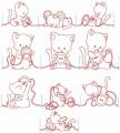 Sewing Kitty Set