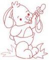 06 Baby Bunny 100x100 Hoop