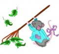 Mitzi Mouse for 4x4 (100x100mm) and 5x7 (130x180mm) Hoops