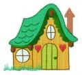 27  Quaint Houses 130x180mm Hoop