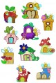 20:  LeBug House. Set of 10. 130x180 Hoop