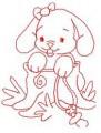 08 Baby Bunny 100x100 Hoop