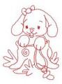 28 Baby Bunny 130x190 Hoop