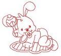 23 Baby Bunny 130x180 Hoop