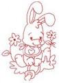 09 Baby Bunny 100x100 Hoop