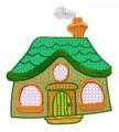 26  Quaint Houses 130x180mm Hoop