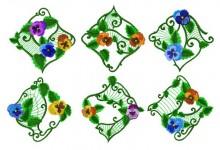 Six of the ten designs