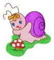 27 Snails 130x180mm Hoop