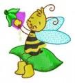 28 Busy Bees 130x180mm Hoop