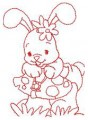 05 Bay Bunny 100x100 Hoop