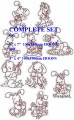 Baby Bunny Complete Set for 4x4 100x100mm & 5x7  130x180mm Hoops