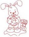 02 Baby Bunny 100x100 Hoop