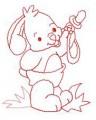 26 Baby Bunny 130x180 Hoop