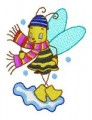 29 Busy Bees 130x180mm Hoop